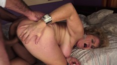 Big tit mature plumper eats his rod and gets hammered like a doggie