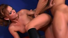 Insatiable Cassie Courtlyn is a hot babe who loves fucking like crazy