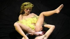 Dancer Gina Opel Wears Her Tutu While She Blows And Gets Hammered