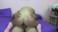 Hot blonde Rebecca Richards is in need of a hard dick filling her cunt