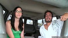 She got invited to enter the bang bus... What will happen to Cherry Ferretti?