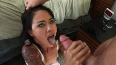 Dana Vespoli gets drilled rough in the ass and keeps begging for more