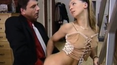 Naughty Paulina Seduces An Older Man And Has Him Pounding Her Snatch