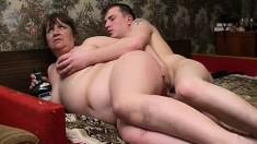 Fat Russian Granny