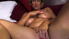 Women Playing With Her Dildo And Dirty Talk 1