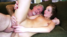 Daddy and partner's chum sex Cheerleaders