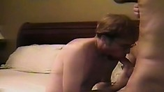 Young twink gets his ass stuffed by a stranger in a hotel room